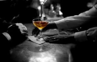 cocktail dans le noir