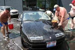 Car-Wash evg evjf belgrade insolite