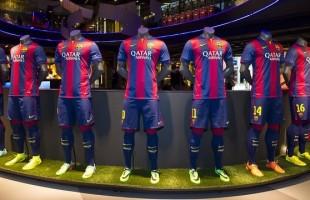mannequin maillot fc barcelona evg evjf team building intripid