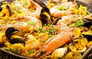 paella geante intripid barcelona evg evjf