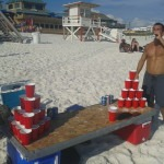 beerpong beach evg evjf barcelone team building insolite